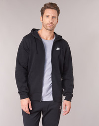 vaatteet Miehet Svetari Nike HOODIE SPORT Black