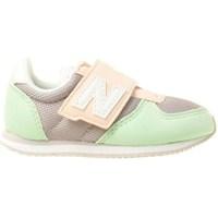 kengät Lapset Matalavartiset tennarit New Balance 220 Vaaleanvihreä,Harmaat,Vaaleanpunaiset