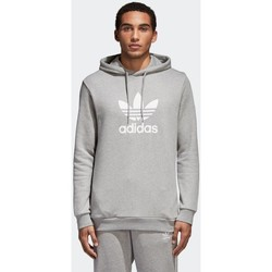 vaatteet Miehet Svetari adidas Originals Trefoil Warm UP Harmaat