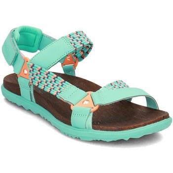 kengät Naiset Sandaalit ja avokkaat Merrell Around Town Sunvue Woven Vihreät