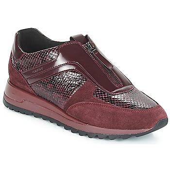 outlet store 22c48 467be kengät Naiset Matalavartiset tennarit Geox D TABELYA Bordeaux