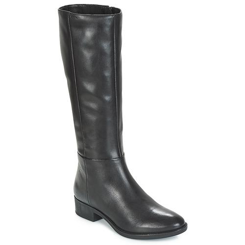 kengät Naiset Saappaat Geox D FELICITY Black