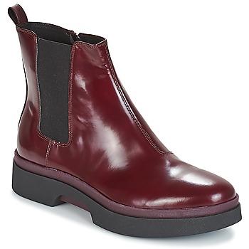 kengät Naiset Bootsit Geox D MYLUSE Bordeaux