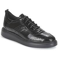 kengät Naiset Derby-kengät Geox D THYMAR Musta