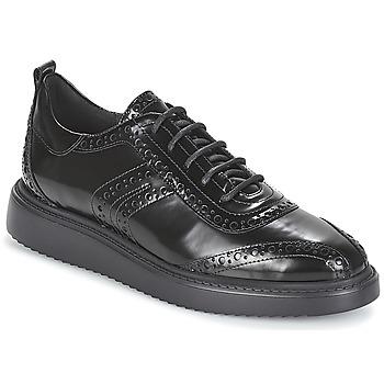 kengät Naiset Derby-kengät Geox D THYMAR Black