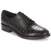 kengät Naiset Derby-kengät Geox DONNA BROGUE Black