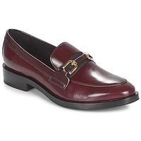 kengät Naiset Mokkasiinit Geox DONNA BROGUE Bordeaux / Black