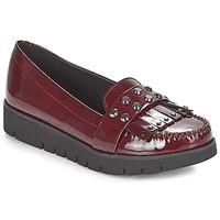 kengät Naiset Mokkasiinit Geox D BLENDA Bordeaux