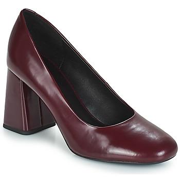 kengät Naiset Korkokengät Geox D SEYLISE HIGH Bordeaux