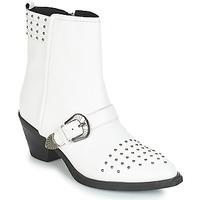 kengät Naiset Nilkkurit Geox D LOVAI White