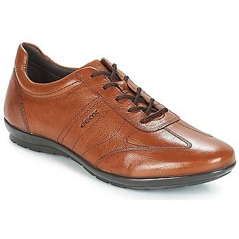 kengät Miehet Derby-kengät Geox UOMO SYMBOL Ruskea