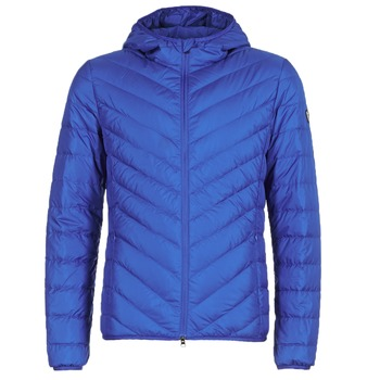 vaatteet Miehet Toppatakki Emporio Armani EA7 TRAIN CORE SHIELD 8NPB09 Blue / Electrique
