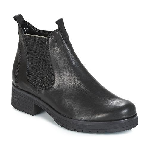 kengät Naiset Bootsit Gabor TREASS Black