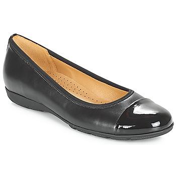 kengät Naiset Balleriinat Gabor BORINA Black