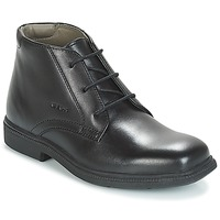 kengät Pojat Bootsit Geox JR FEDERICO Black