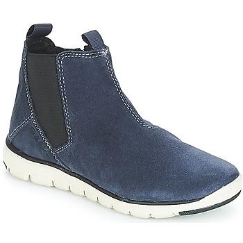 kengät Pojat Bootsit Geox J XUNDAY BOY Laivastonsininen