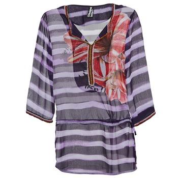 vaatteet Naiset Topit / Puserot Desigual ALONDRA Monivärinen
