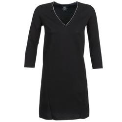 vaatteet Naiset Lyhyt mekko Majestic BRUNEHILDE Black