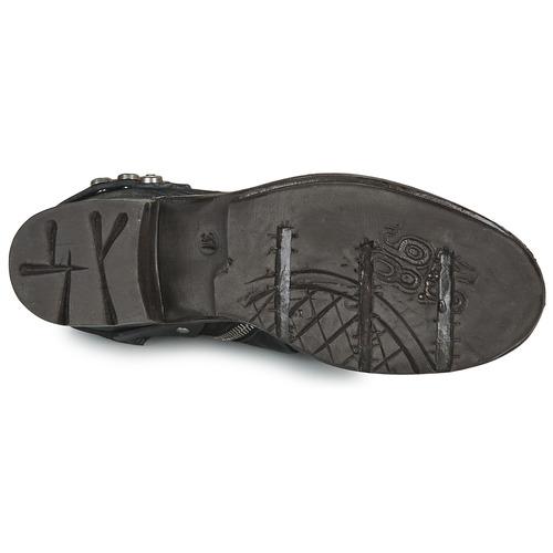 Airstep / A.s.98 Nova 17 Black - Ilmainen Toimitus- Kengät Bootsit Naiset 204