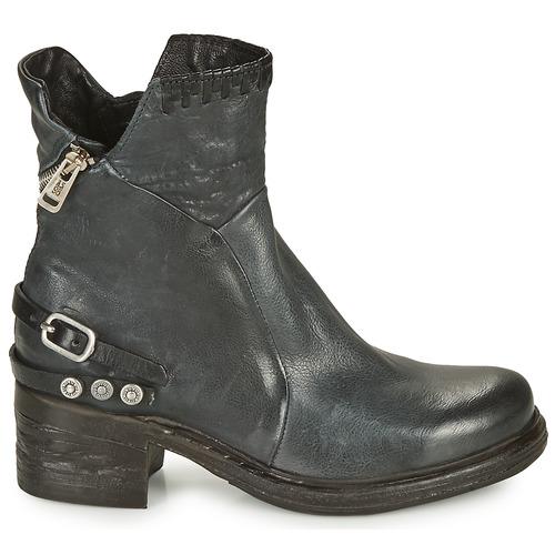 Airstep / A.s.98 Nova 17 Blue Black - Ilmainen Toimitus- Kengät Bootsit Naiset 204