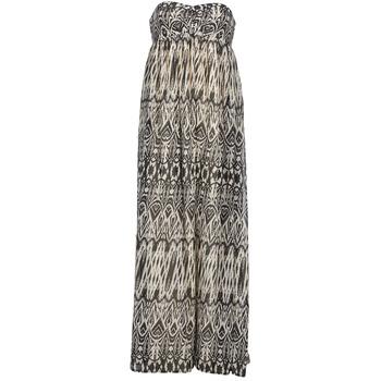 vaatteet Naiset Pitkä mekko Le Temps des Cerises GOTA Grey / White