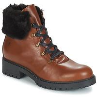 kengät Naiset Bootsit Casual Attitude JENO Cognac