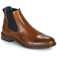 kengät Miehet Bootsit Casual Attitude JANDY Cognac / Laivastonsininen
