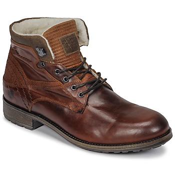 kengät Miehet Bootsit Casual Attitude JOPA Brown