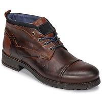 kengät Miehet Bootsit Casual Attitude JABILON Brown