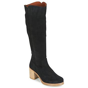 kengät Naiset Saappaat Casual Attitude JAPI Black
