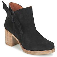 kengät Naiset Nilkkurit Casual Attitude HIRCHE Black
