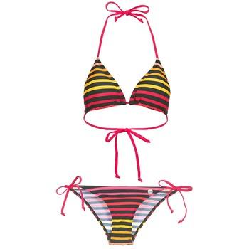 vaatteet Naiset kaksiosainen uimapuku Little Marcel BASTINE Black / Monivärinen