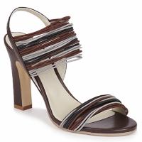 kengät Naiset Sandaalit ja avokkaat Jil Sander JS16121 Brown