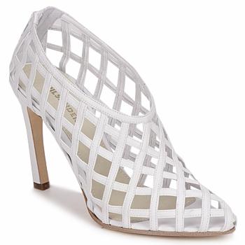 kengät Naiset Sandaalit ja avokkaat Jil Sander JS16107 White