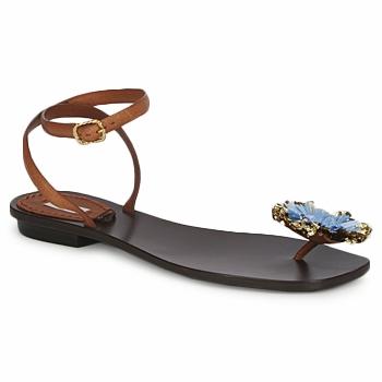 kengät Naiset Sandaalit ja avokkaat Marc Jacobs MJ16131 Brown / Blue