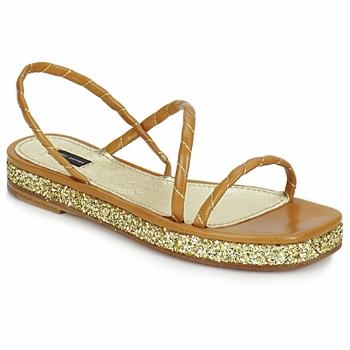 kengät Naiset Sandaalit ja avokkaat Marc Jacobs MJ16405 Brown / Kulta