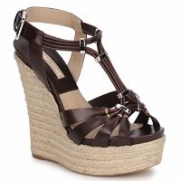 kengät Naiset Sandaalit ja avokkaat Michael Kors IDALIA Brown