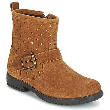 kengät Tytöt Bootsit André SALMA Camel