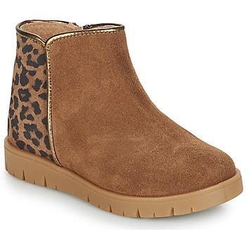 kengät Tytöt Bootsit André SAVANNAH Camel