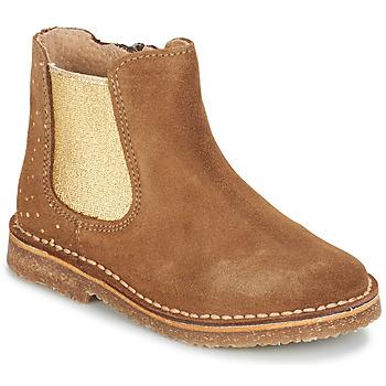 kengät Tytöt Bootsit André CANNELLE Camel