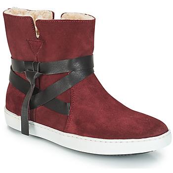 kengät Naiset Bootsit André ALTHEA Viininpunainen