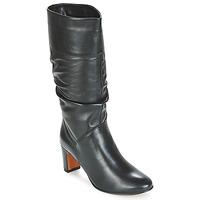 kengät Naiset Saappaat André SARA Musta