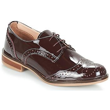 kengät Naiset Derby-kengät André PLYMOUTH Bordeaux