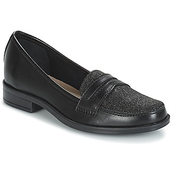 kengät Naiset Mokkasiinit André LONG ISLAND Black