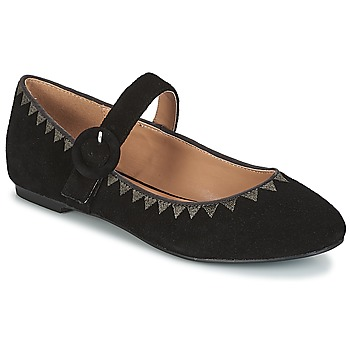 kengät Naiset Balleriinat André ALBOROZA Black