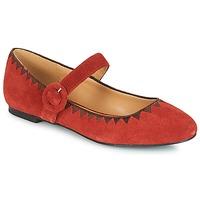 kengät Naiset Balleriinat André ALBOROZA Red
