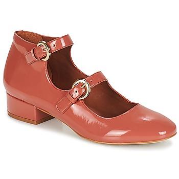 kengät Naiset Balleriinat André GABIE Vaaleanpunainen