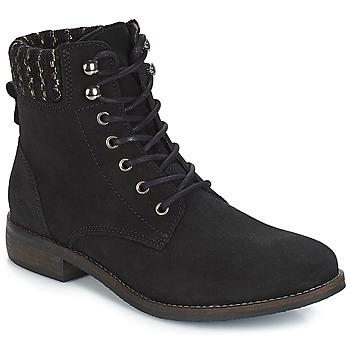 kengät Naiset Bootsit André CARMINA Musta