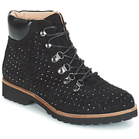 kengät Naiset Bootsit André CALCEDOINE Black