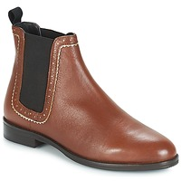 kengät Naiset Bootsit André CARLOTA Brown
